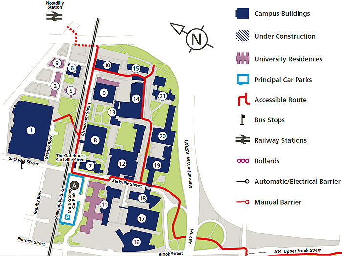 University Of Manchester Campus Map.Public Talk Today Prof Kevin Anderson On How Bad Is The Mess We