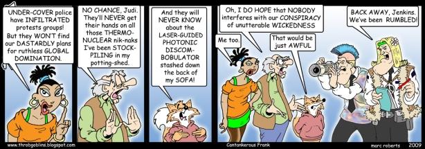 mole- cartoon - undercover - marc roberts