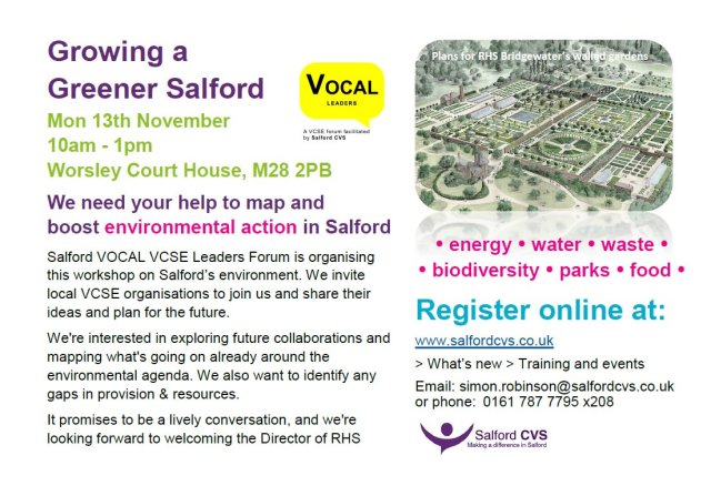 growing greener salford