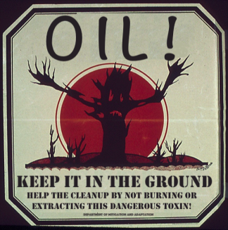 oil keep it in the ground