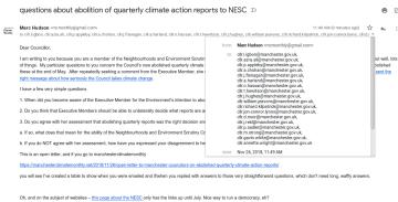 screengrab of nesc letter