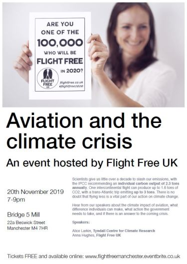mcfly aviation and climate crisis 2019 11 20